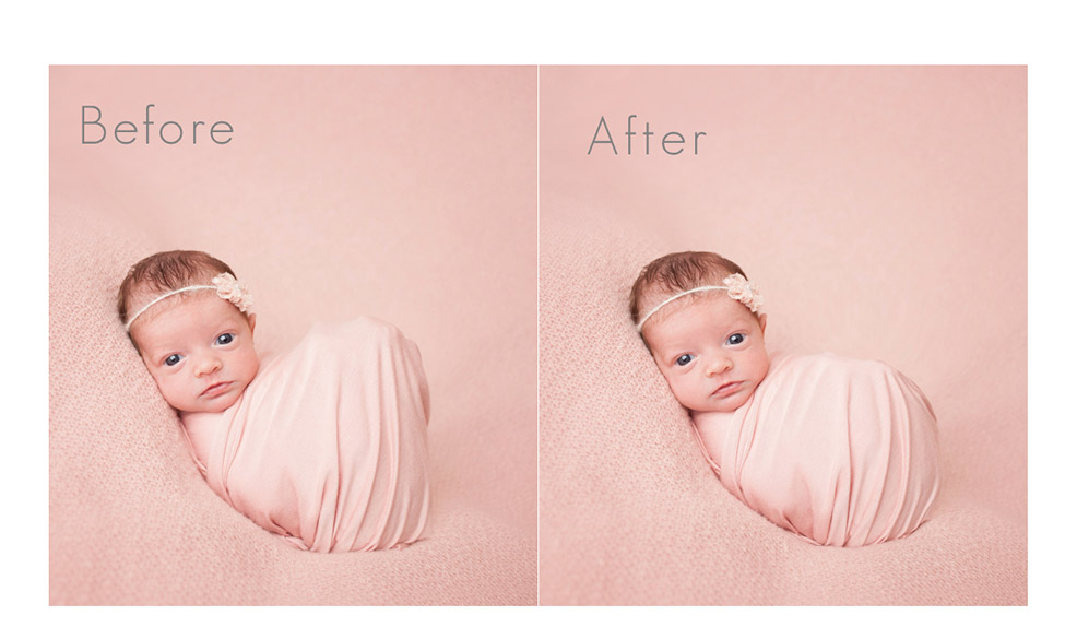 Newborn editing video-newborn wrapping video