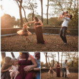 Unposed lifestyle maternity session incorporating siblings