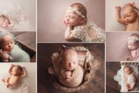 Best Cleveland newborn photographer offering both studio newborn portraits and lifestyle newborn photography