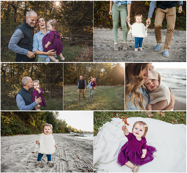 Fall family mini session Cleveland ohio by Akron photographer Chelsey Hill Photography