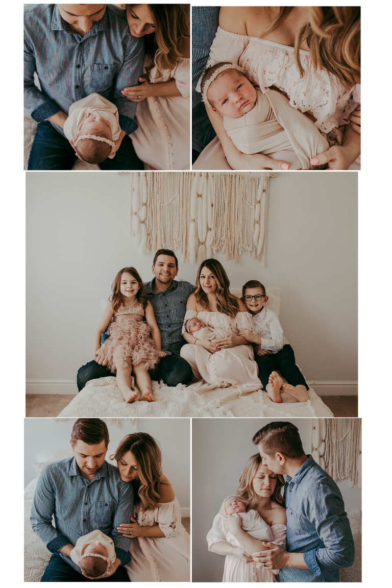 Top rated cleveland newborn photographer lifestyle newborn photographer