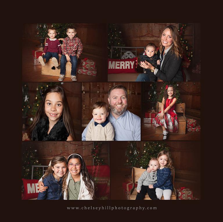 akron family photographer christmas mini sessions