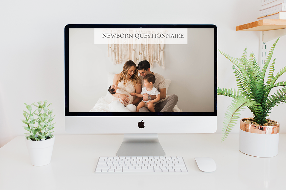 Free newborn questionnaire with psychographic information