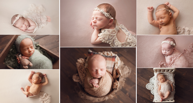 Best Cleveland newborn photographer offering both studio newborn portraits and lifestyle newborn photography