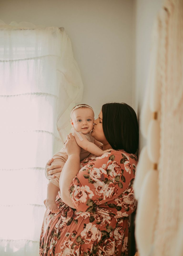 newborn baby photography bohemian mommy and me mini session cleveland, Ohio