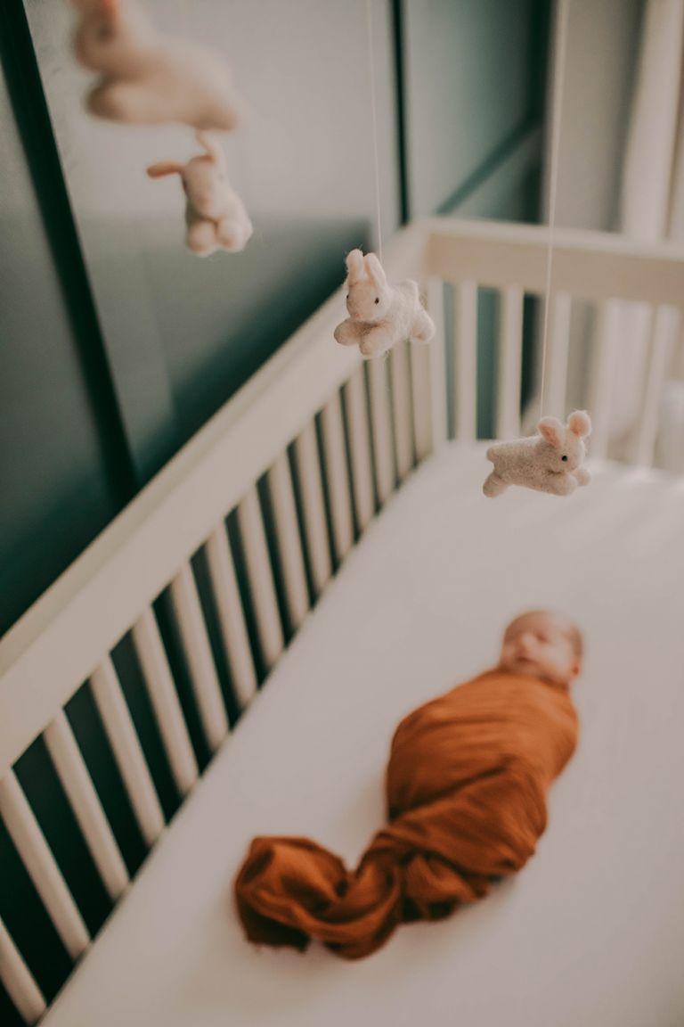 In-home newborn session Cleveland Ohio